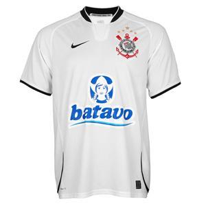 Camisa do Corinthians de 2009 - Camisa I (Branca)