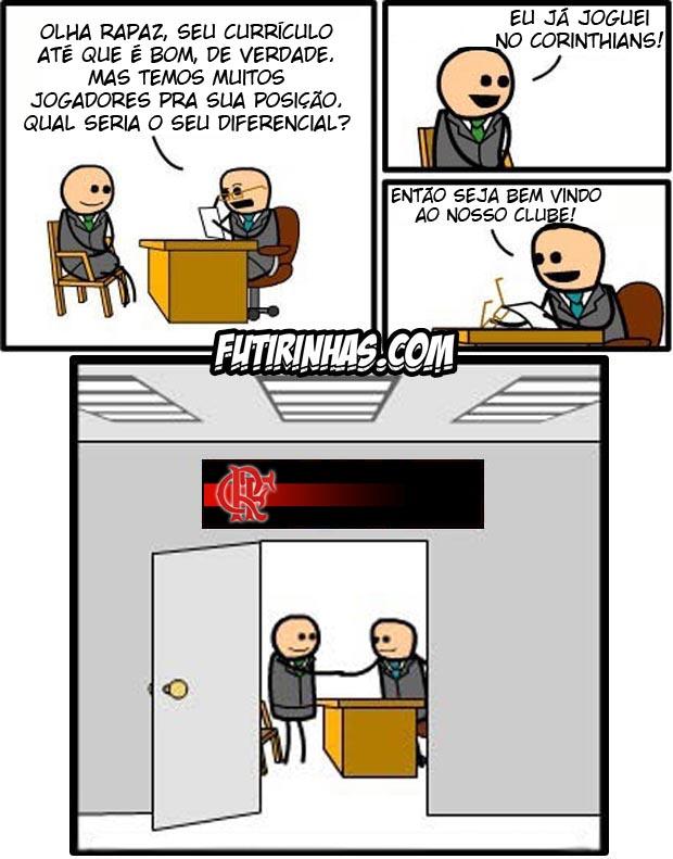 Processo de contrata��o do Flamengo