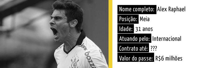 Alex pode voltar ao Corinthians