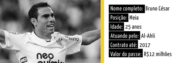 Bruno C�sar pode voltar ao Corinthians