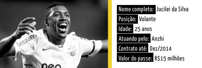 Jucilei pode voltar ao Corinthians