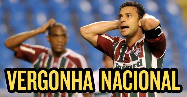 Fluminense é a vergonha nacional