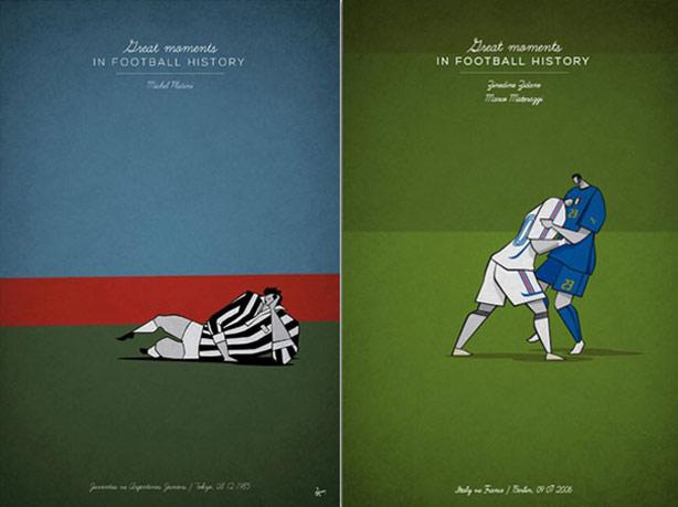 Platini e Zidane