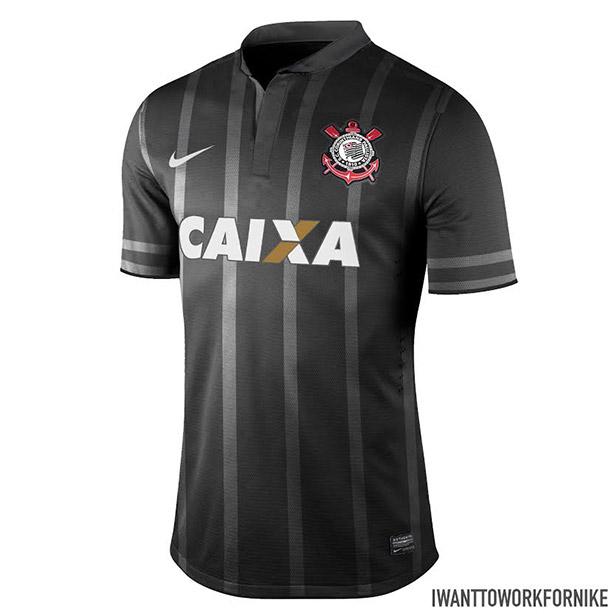 18af72f4b108b Designer da Espanha cria mais dois modelos da camisa do Corinthians ...