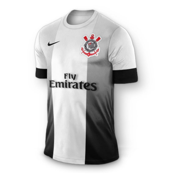 Camisa do Corinthians - Emirates - uniforme 3