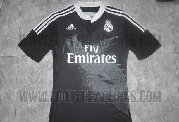 Camisa do Real Madrid de 2014