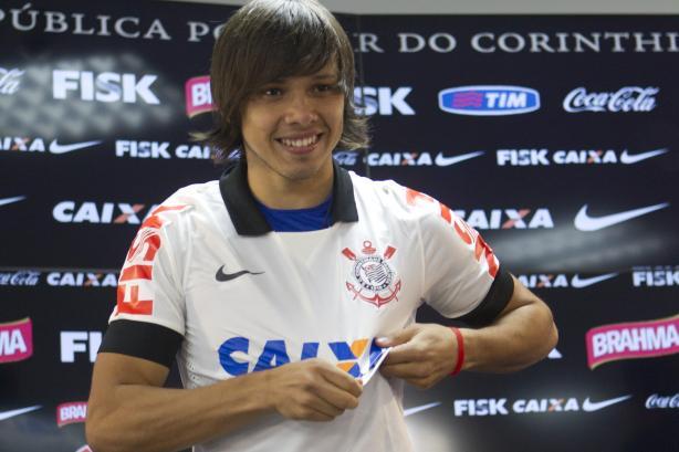 Romero - apresentação do Corinthians