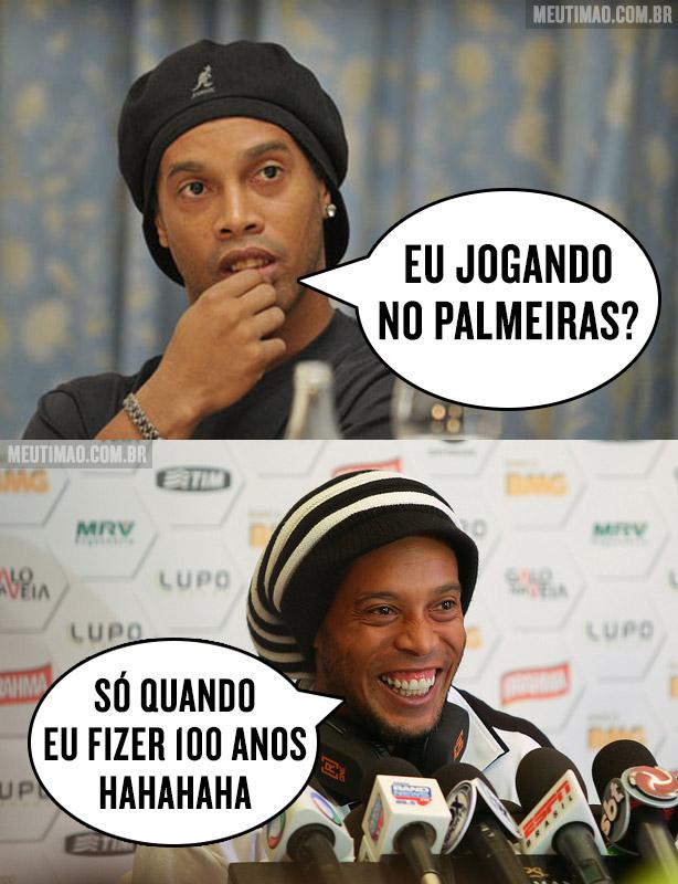 Ronaldinho Ga�cho no Palmeiras