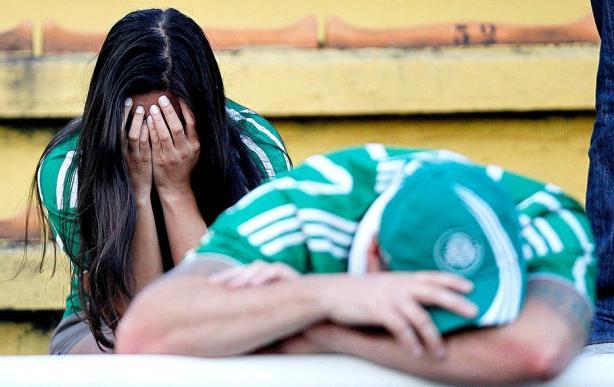 Palmeiras lamenta