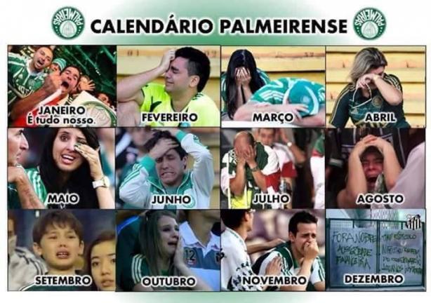 Calendário Palmeirense