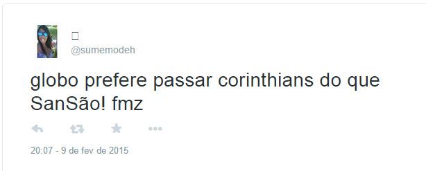 Jogo do Corinthians na TV