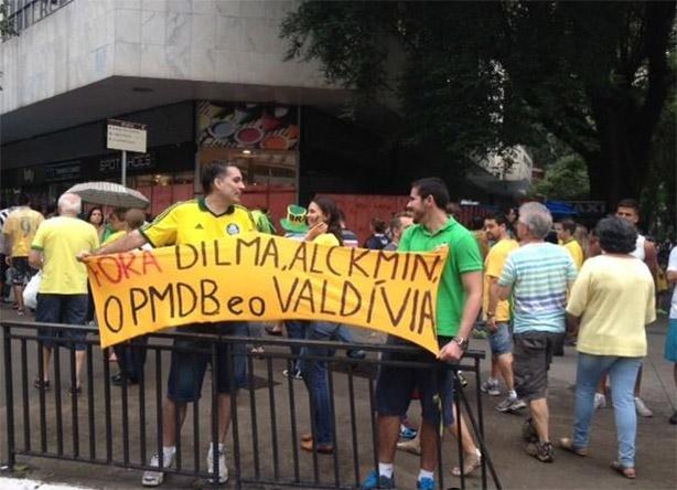 Palmeirenses na Paulista