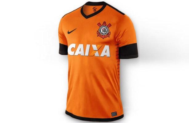 Confira a imagem da nova terceira camisa. Terceiro Uniforme do Corinthians 5e77c635d12a4