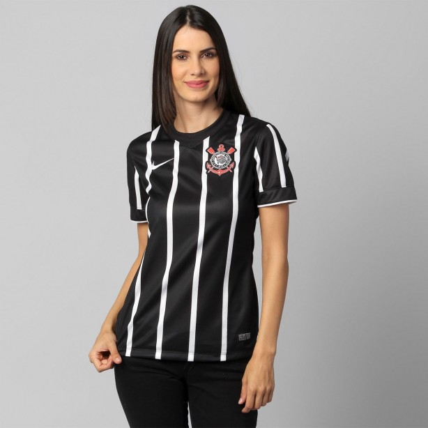 Camisa Feminina Nike Corinthians. Camisa feminina Corinthians 5ea9cb78e32ee