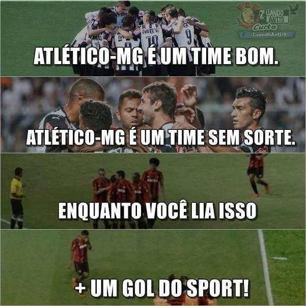 Gol do Sport contra o Atlético-MG
