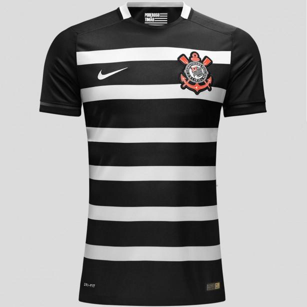 ShopTimão inicia pré-venda do novo uniforme II do Corinthians 69c85229fc954