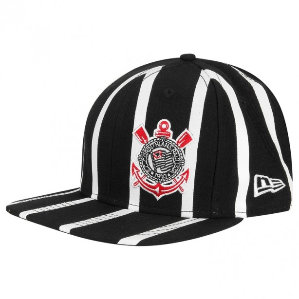 Boné New Era Corinthians 950 Of St Striped