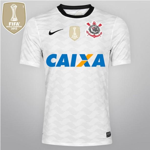 Relembre os modelos de camisa branca utilizados pelo Corinthians ... 4bdb98e608012