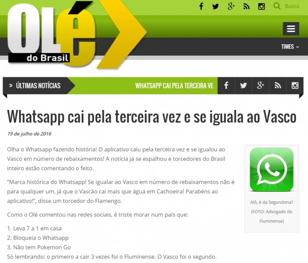 Whatsapp - Vasco