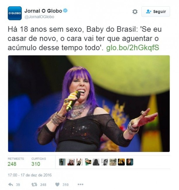 Baby do Brasil e Casagrande