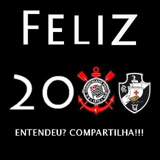 Feliz 2012 aos Corinthianos