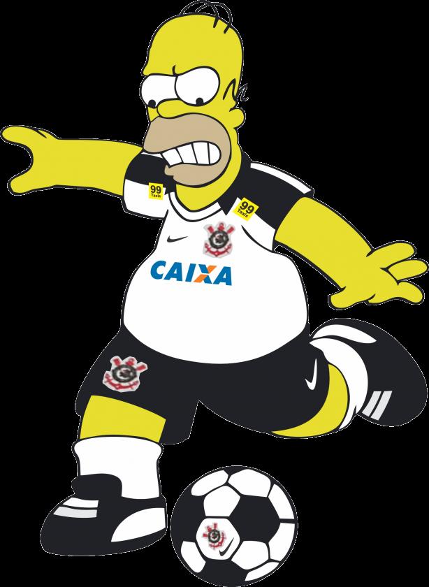 Resultado de imagem para TIMÃO desenho futebol