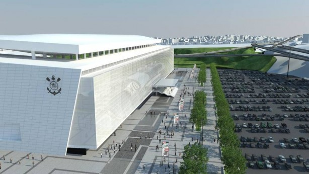 Arena corinthians for Piso 0 inferior estadio da luz
