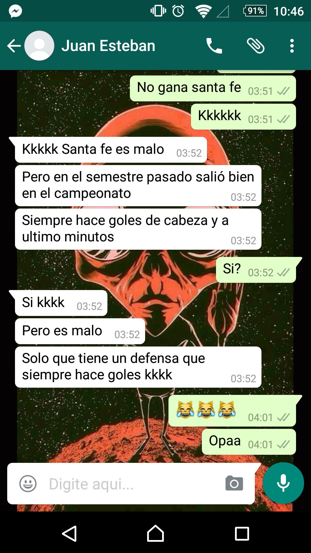 Santa Fé não coloca medo nem na Colômbia!