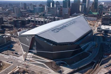 US Bank Stadium a nova casa do Minnesota Vikings da NFL já nasceu com Naming Rights e ajuda pública.