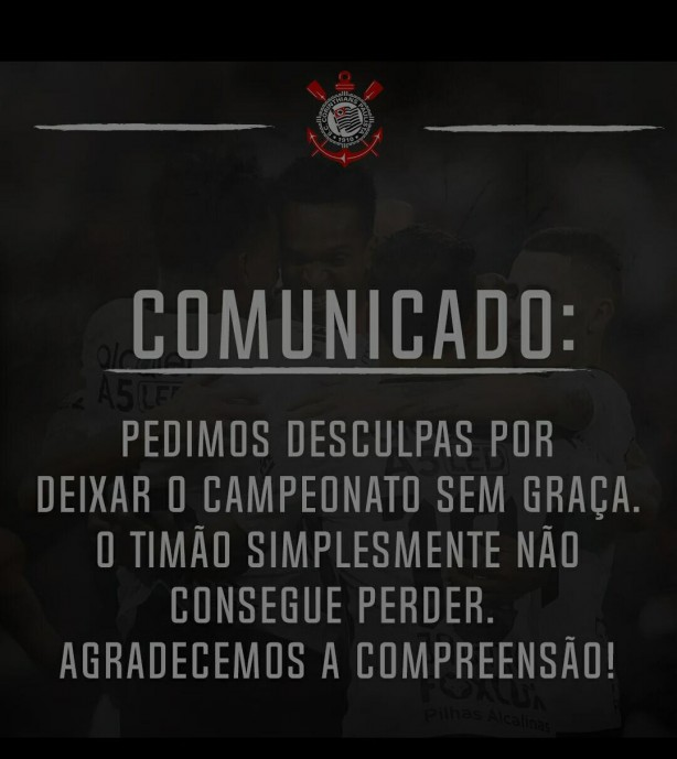 Comunicado do timão