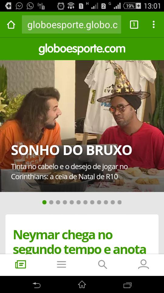 Ronaldinho diz que tem vontade de jogar no timo fandeluxe Gallery