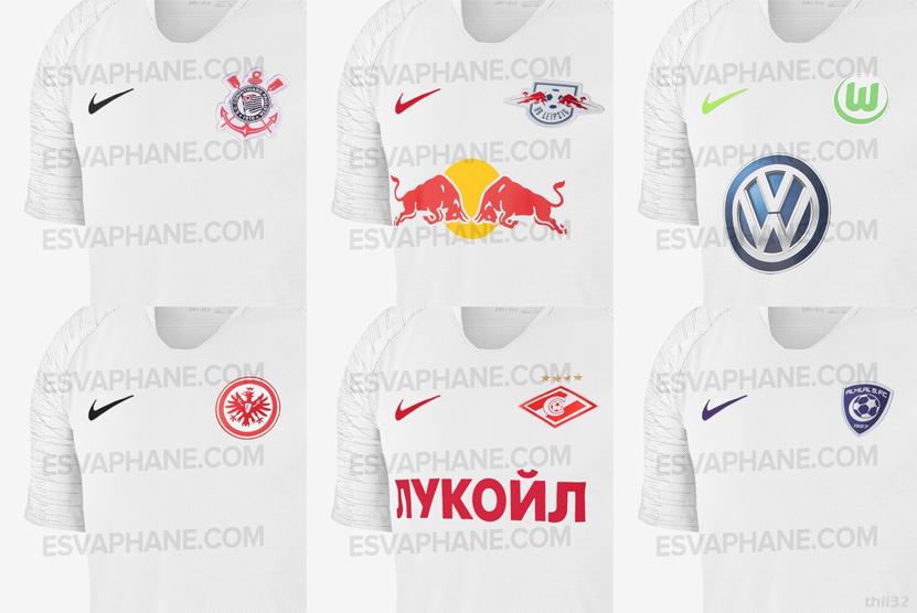 Preguiça da Nike nos supostos novos uniformes 2fddcbdd5299d
