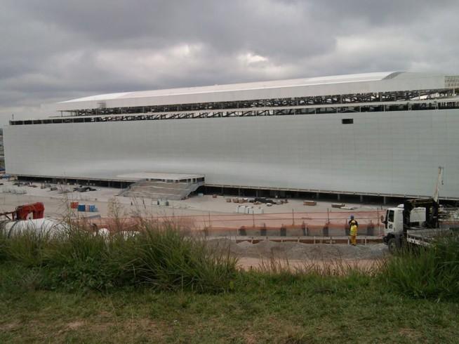 Arena Corinthians em 18 de dezembro de 2013