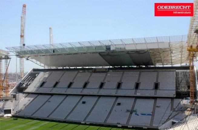 Novas imagens da Arena Corinthians