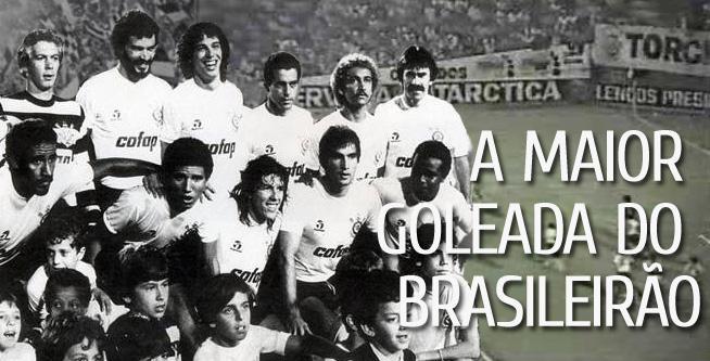 A maior goleada da história do Brasileirão  Corinthians 10 x 1 ... 2d5e9dca56f06