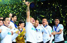 Cartaz oficial confirma participa��o do Corinthians em torneio internacional