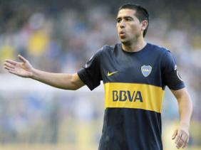 Riquelme confia na for�a do Boca Juniors no duelo com o Corinthians