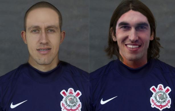 C�ssio, titular do Tim�o, e Walter, que deve ser confirmado hoje - Corinthians