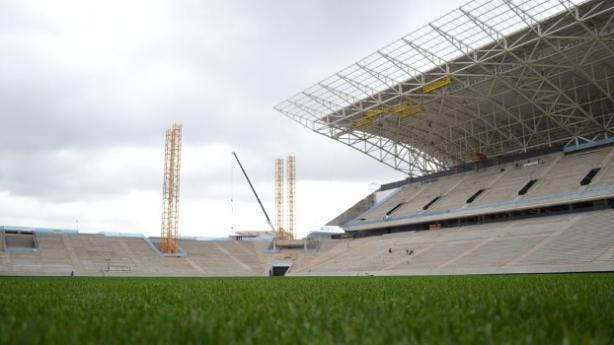 Arena Corinthians deve ganhar pintura no gramado e mosaico de cadeiras na arquibancada