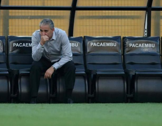 Tite est� sob press�o no Corinthians
