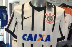 Novo manto do Tim�o j� entra em pr�-venda no site da Nike