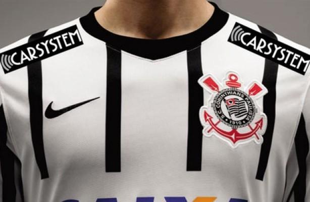 Camisa do Corinthians tem novo patrocinador