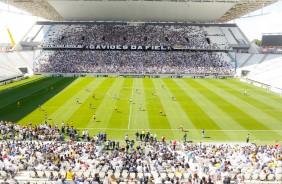 Cadeiras retornam no setor visitante da Arena Corinthians