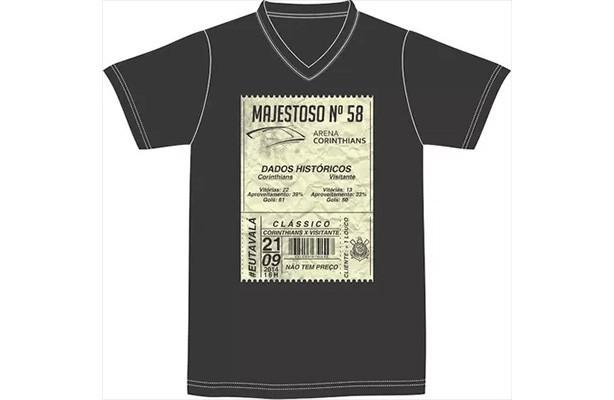 Corinthians lan�ar� camisa especial para o cl�ssico contra o S�o Paulo