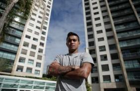Dudu j� fala como jogador do Corinthians e revela ajuda de Gil na negocia��o