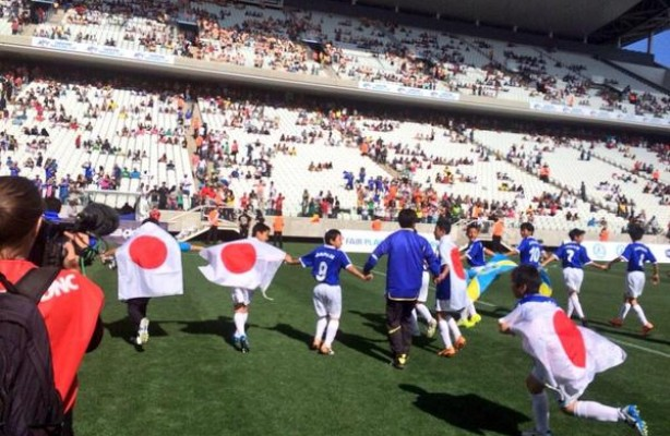 Danone Nations Cup movimentou a Arena Corinthians