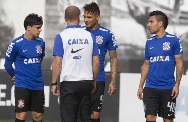 Mano no treino do Corinthians