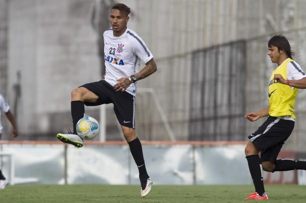 Tite faz �ltimo treino e confirma time titular contra o Mogi Mirim