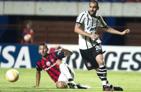 Na Libertadores, audi�ncia do Tim�o d� surra no S�o Paulo