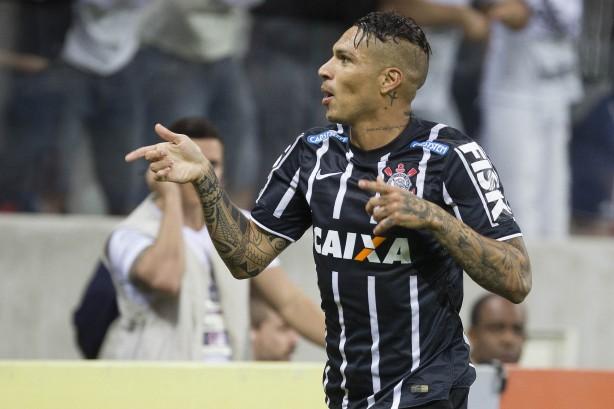 Guerrero fez o primeiro gol da partida